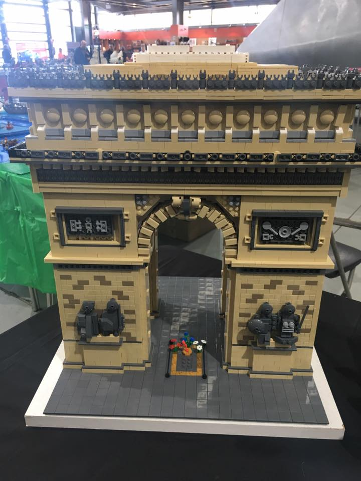 LEGO models and displays