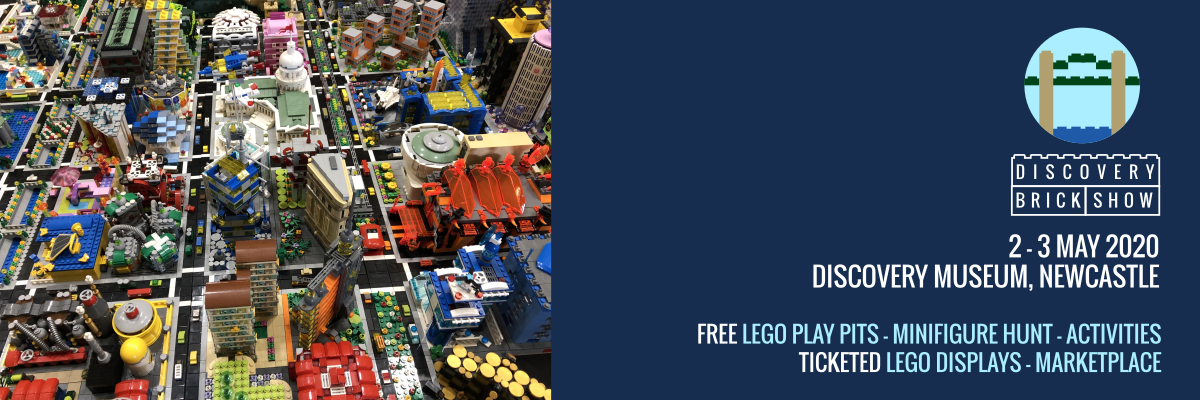 Discovery Brick Show - LEGO show in Newcastle upon Tyne