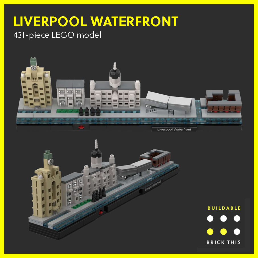 LEGO model of Liverpool