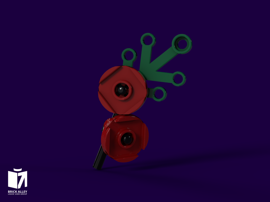 LEGO poppy design by Jack
